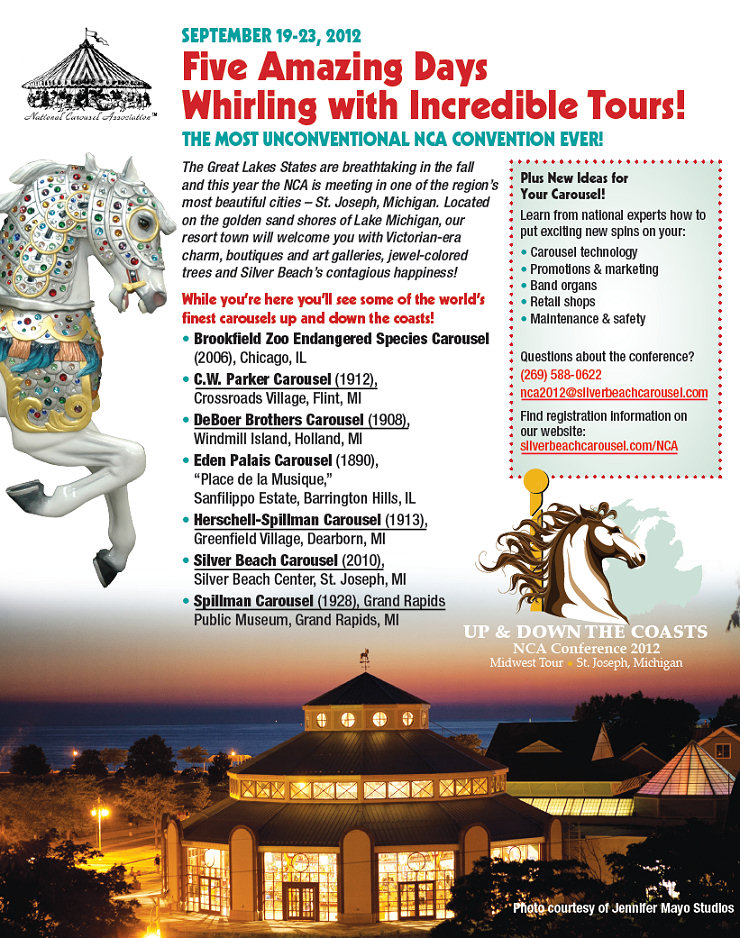 2012 NCA Convention Flyer
